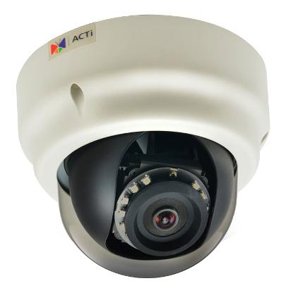 ACTi B52 - Kamery kopułkowe IP