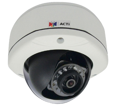 ACTi E77 - Kamery kopułkowe IP