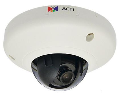 ACTi E95 - Kamery kopułkowe IP