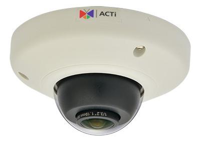 ACTi E98 - Kamery kopułkowe IP