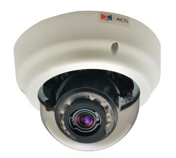 ACTi B64 - Kamery kopułkowe IP