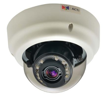 ACTi B65 - Kamery kopułkowe IP
